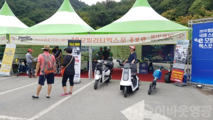 e-모빌리티, 불갑산 상사화 축제장을 달리다-4.jpg