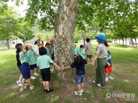 영광군, 숲해설 프로그램 운영으로 큰 호응 1.jpg