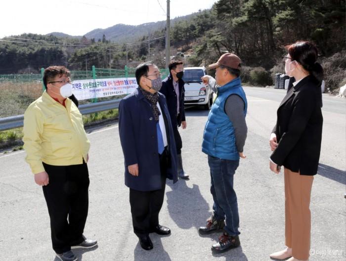 영광군, '세계 물의 날' 맞아 수원지 정화활동 펼쳐 2.JPG