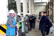 김준성 영광군수, 환경관리센터 방문 격려