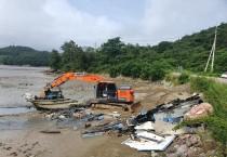 영광군, 민·관 합동 가마미해수욕장 청소 구슬땀