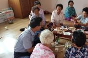 홍농읍, 마을 화합과 풍년을 기원하는 백중행사 개최