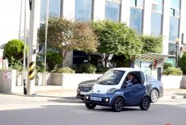 영광군수 자동차는 초소형 전기차!