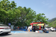 관광지 불법노점 '기승'...식품위생 사각지대