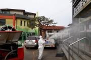 영광읍, 코로나19 신속 방역으로 발빠른 대처