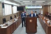 영광군의회, 제8대 후반기 원구성 관련 무소속 의원 기자 간담회 개최