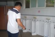 영광군, 여름철 감염병 대비  주요 관광지 화장실 집중 방역 소독 실시