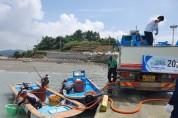영광 향화도 해역에 보리새우 종자 방류