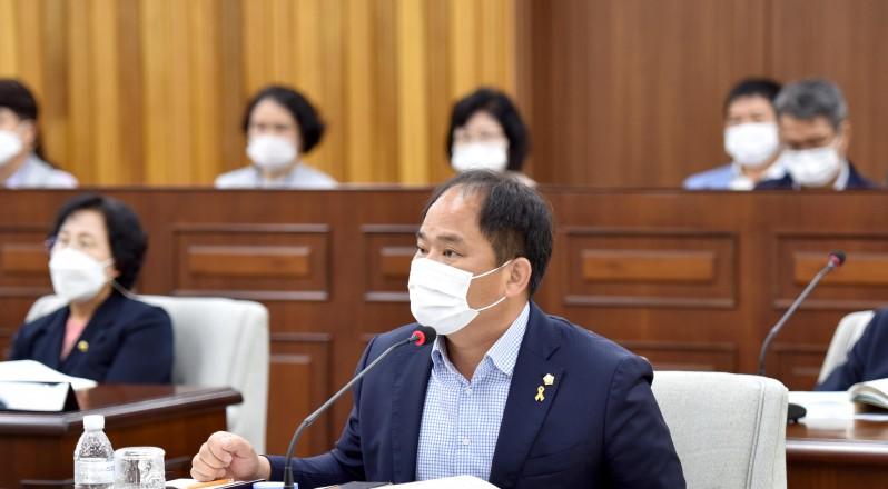 장영진 의원, 영광형 '공공배달앱' 개발 제안…소상공인 수수료 부담 절감 기대