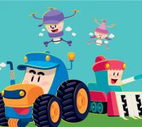영광군 전국최초 농업기계 캐릭터 개발, 특허청 상표등록권 획득!