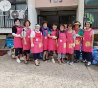 홍농읍 생활개선회 자원봉사 활동으로 이웃 사랑 실천