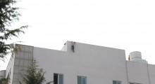 영광읍에서 자살 소동, 소방당국 대처로 생명에 지장 없어