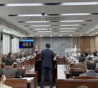 강필구 의원, 책임 회피하는 공무원 지적 '눈길'